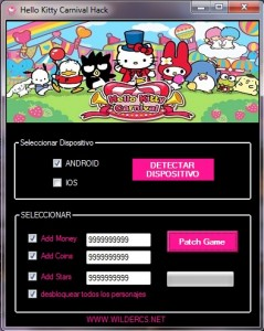 hello kitty carnival trick